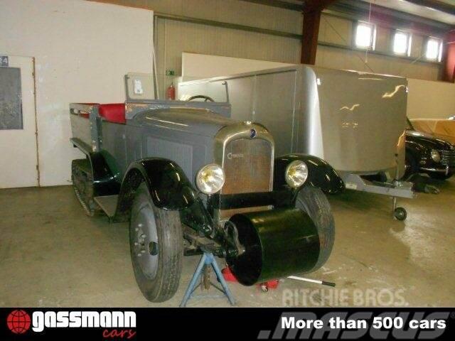 Citroën Kegresse Half-Track Kettenfahrzeug, 1926, Minibussar