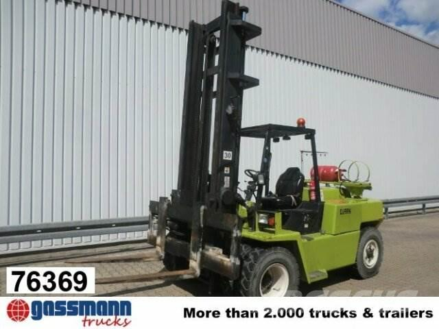 Clark GPH 70, Diesel/Gas
