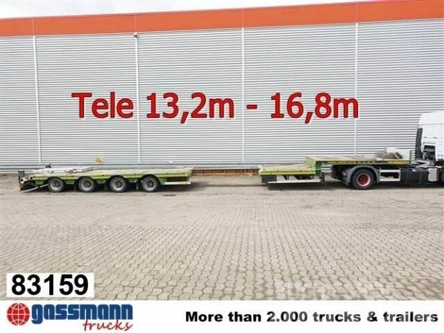 Faymonville STN-4AX, Ausziehbar auf 16,8m, 2x Lenkachse