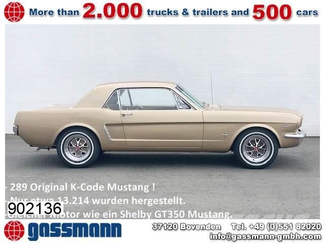 Ford Mustang 289 Coupe K-Code
