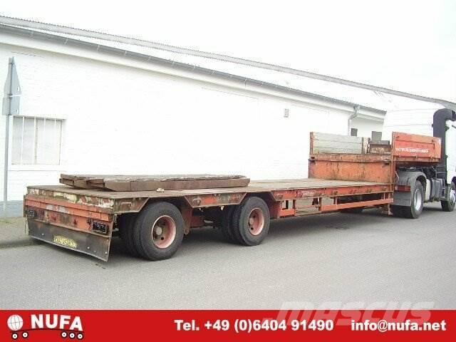 Goldhofer STPA / T2-22/80A, 1977, Låg lastande semi trailer