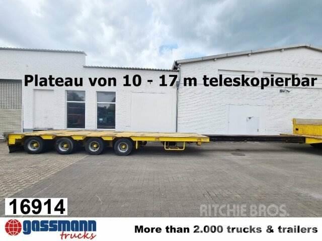 Goldhofer STZ-L4-45/80, 4-Achs Telesattel