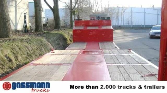 Goldhofer STZ-TL3-32/80 Nutzlast: 35 to., 5,85 m Tiefbett, 1989, Låg lastande semi trailer