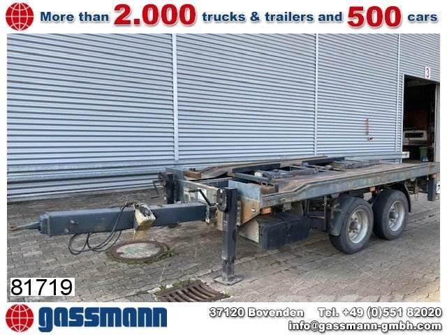 Hoffmann LCR 11.0T Anhänger für City-Abrollcontainer