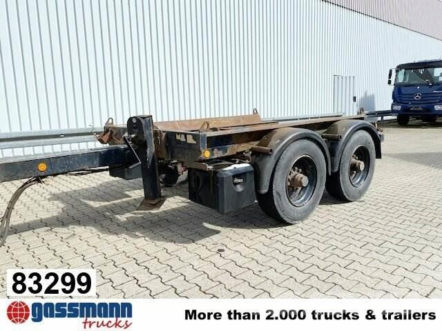 Hüffermann HTM 13 Anhänger für Abetzcontainer