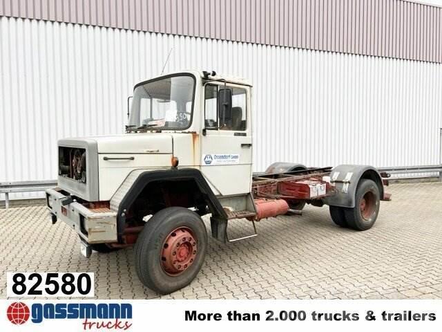 Iveco 150-16 4x2 mit Kran Hiab 290 AWV, Seilwinde