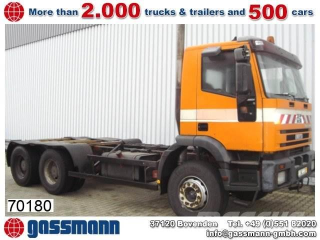 Iveco 260EH / 34 6x4 / 6x4, 1994, Chassier