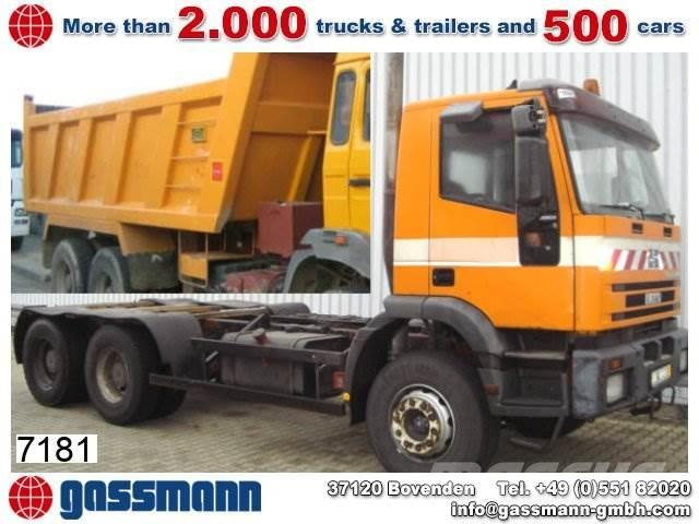 Iveco 260EH 34 6x4 eFH./Umweltplakette Rot