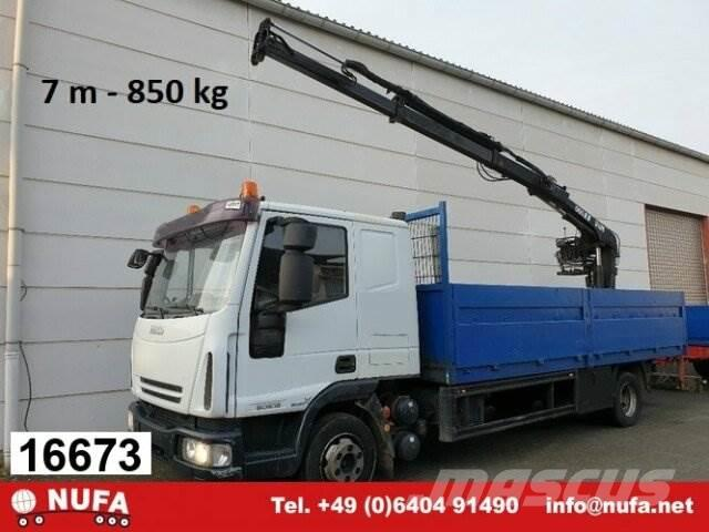 Iveco Euro Cargo ML 80 E 18, Hiab Kran 060-2