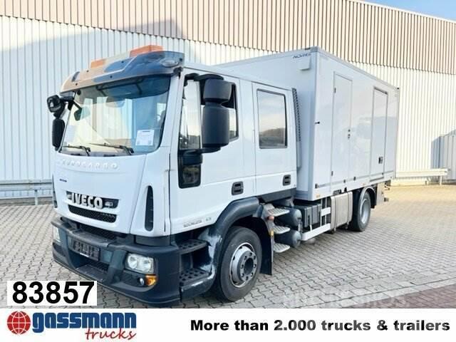 Iveco EuroCargo 120E25 4x2, LBW 1.000kg, Winde
