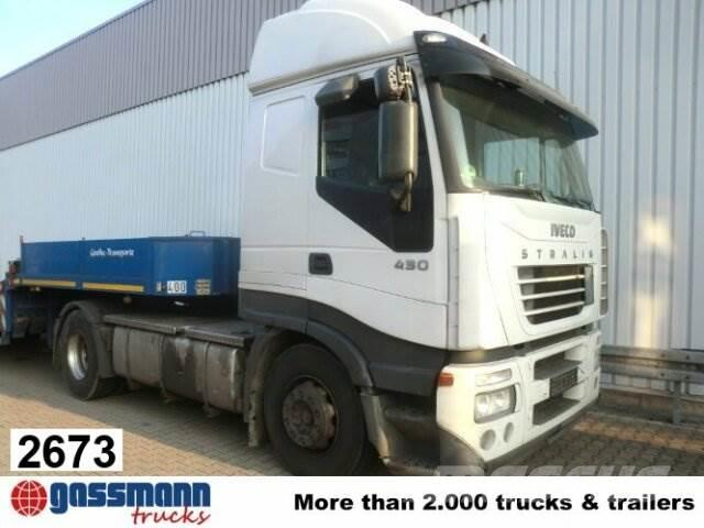 Iveco Stralis 440S43T/P 4x2, Kipphydraulik