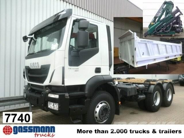 Iveco Trakker AD260T41 6x4 mit Kran
