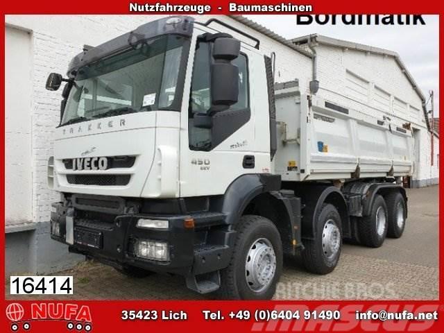 Usa Truck Spiegels.Iveco Trakker Ad340t45 8x4 Bordmatik Int Klima