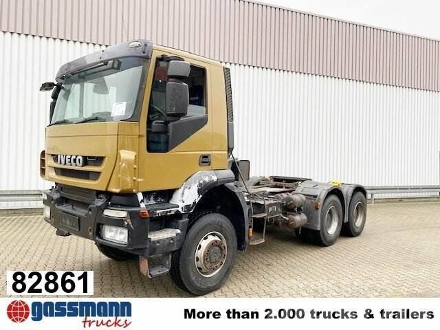 Iveco Trakker AD720T41 6x6, Hydraulik