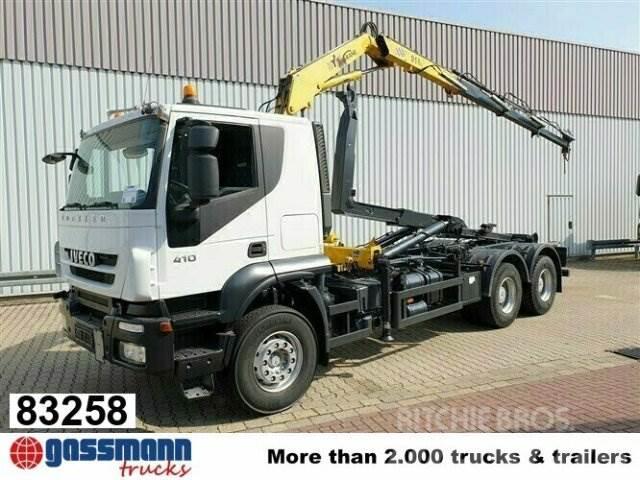Iveco Trakker AT260T41 6x4 mit Kran Hyva V 911 3S
