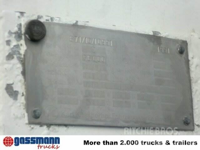Kässbohrer SSK / 56/10-24, 1991, Tanktrailer