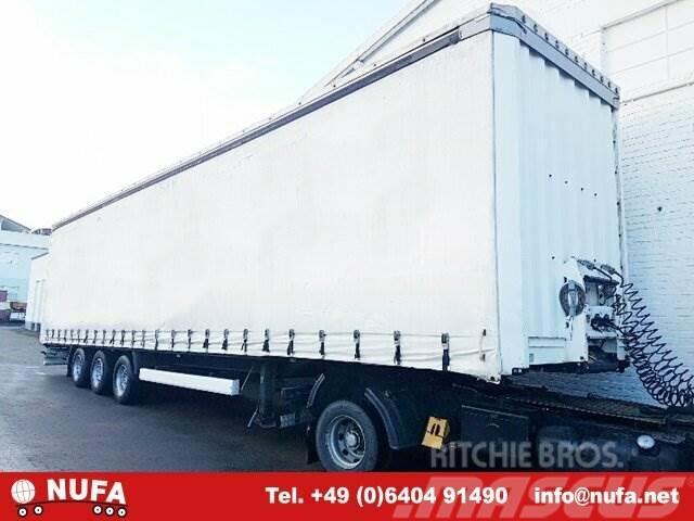 Krone SDP 27 ELG2-CS, Mega, Jumbo, 2004, Kapelltrailer