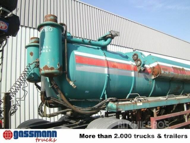 Mabo 3-A-Saugauflieger 25000ltr, BPW, 1988, Tankbilar