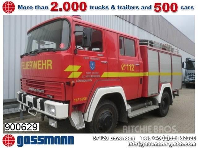 Magirus DEUTZ M170D 11FA 4x4, Feuerwehr