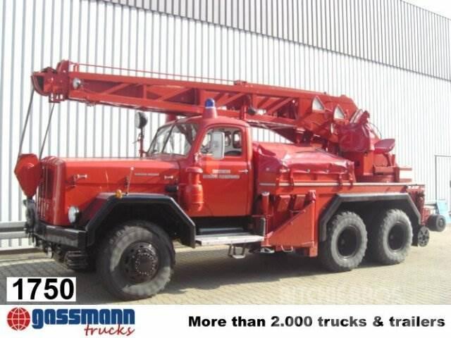 Magirus URANUS 250D22 KW 16 Feuerwehr Kranwagen
