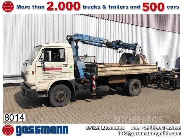 MAN 10.150 4x2, Kran Meiller MK56RS