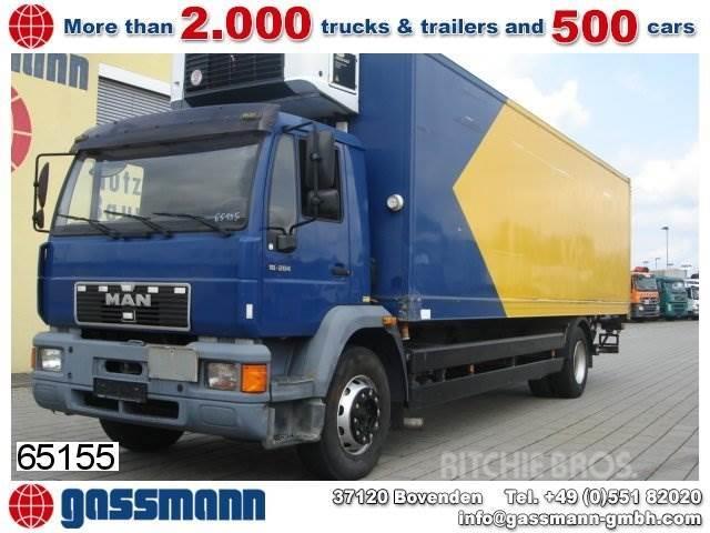 MAN 18.284 L Kühlkoffer/Lbw, Carrier Strom/Diesel