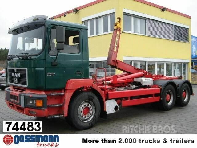 MAN 26.403 6x2, Marrell 26.70, AHK, 1996, Lastväxlare/Krokbilar