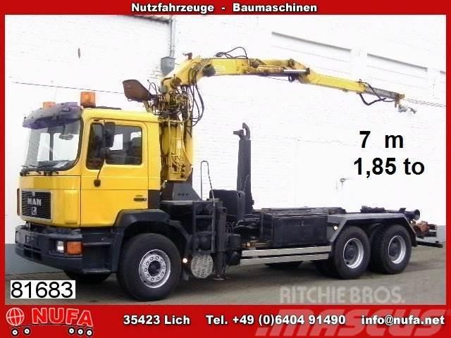 MAN 27.402 DF 6x4 BB mit Kran Penz 13000 H/D
