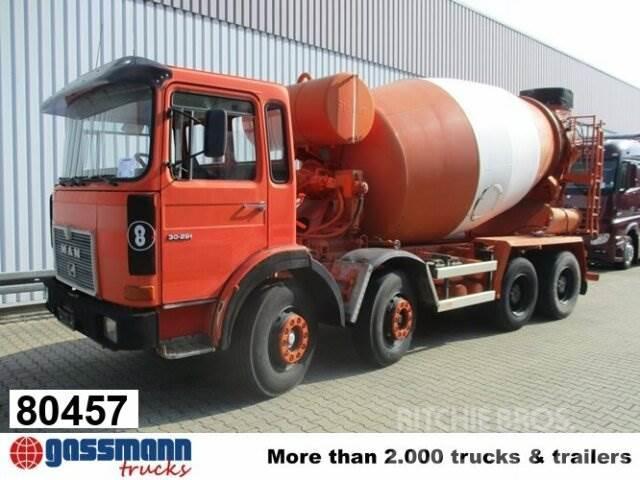 MAN 30.291 8x4 BB 6-Zylinder, Stetter 9m³