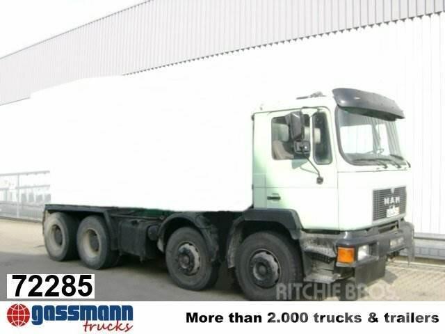 MAN 33.292 Mischer Stetter 7m³ mit Pumpe Schwing 21m,
