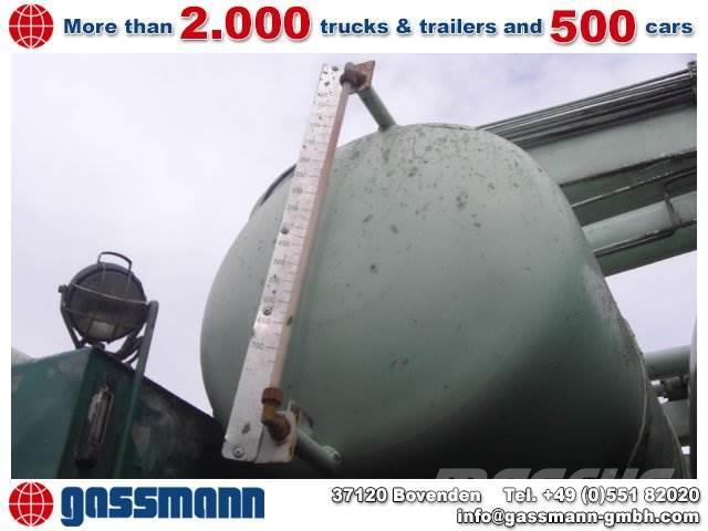 MAN 33.292 Mischer Stetter 7m³ mit Pumpe Schwing 21m, 1989, Cementbil