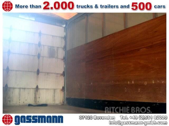 MAN L73 / 12.224 4x2 / 4x2 NSW, 2000, Skåpbilar