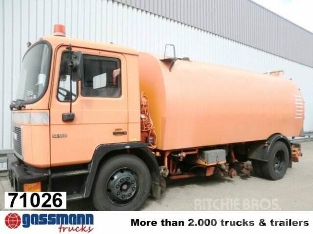 MAN M03 14.152 4x2, Schienenkehrmaschine