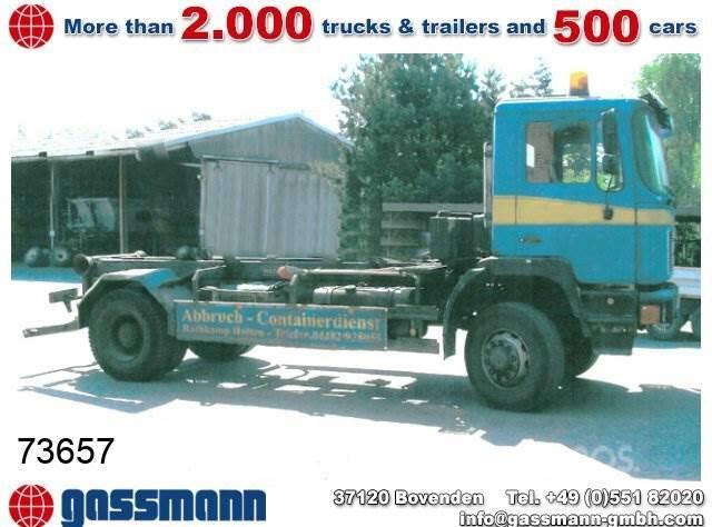 MAN M08 / 17.232 4x2 / 4x2, 1992, Lastväxlare/Krokbilar