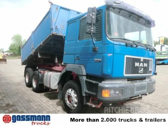 MAN T39 / 26.403 6x4 / 6x4 Sitzhzg./Tempomat, 1996, Tippbilar