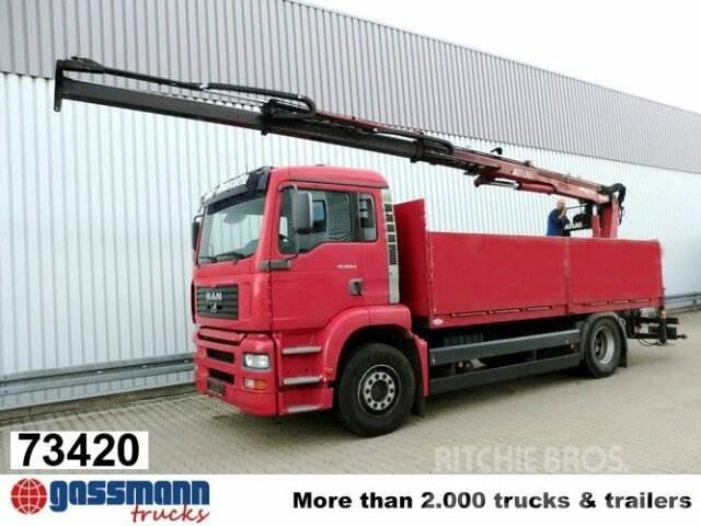 MAN TGA 18.360 4x2, Baustoff, Kran ATLAS 125.1