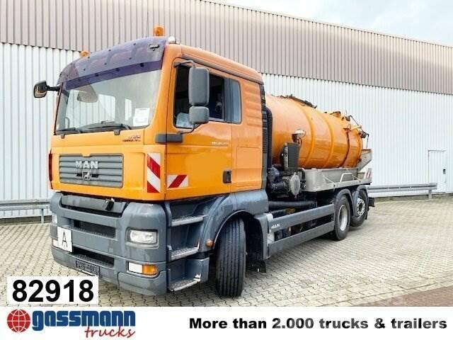 MAN TGA 26.350 6x2-4 BL, Lenk-/Liftachse, Kroll
