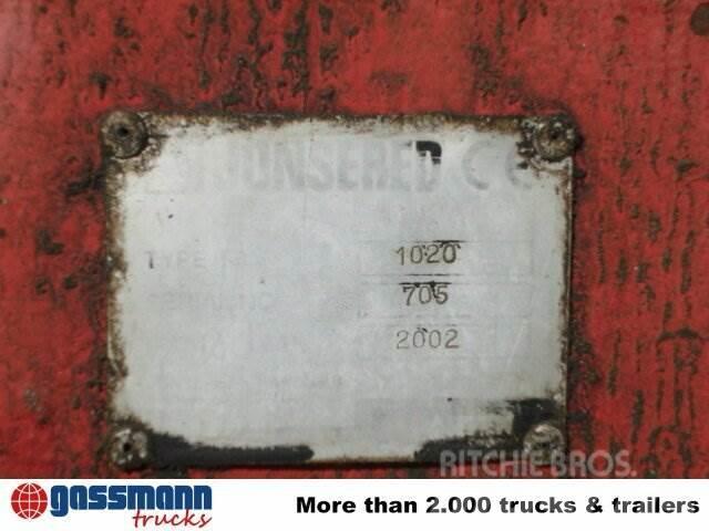 MAN TGA 26.413 6x4 mit Kran Jonsered 1020 Tempomat, 2002, Tippbilar
