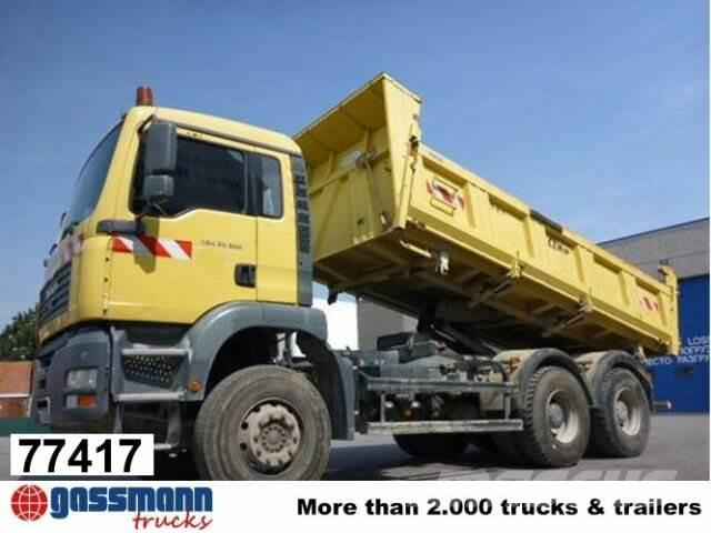 MAN TGA 33.350BB 6x4 Kipper mit Bordmatik