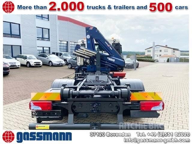 MAN TGL 12.220 4x2 BL City-Abroller mit Kran 8,8m=0,8t