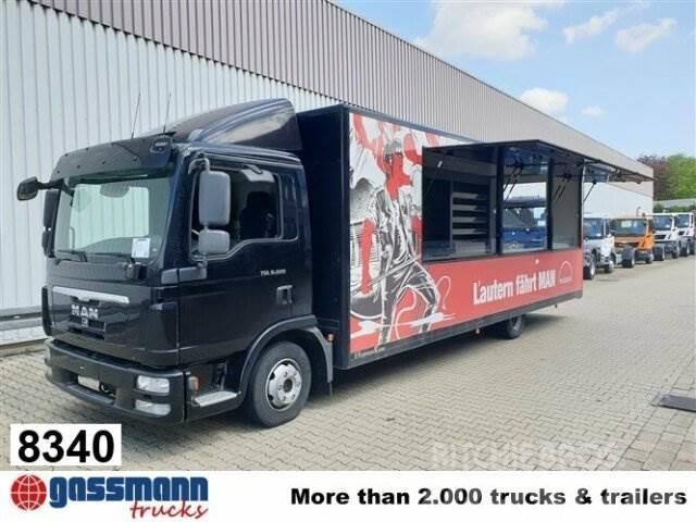 MAN TGL 8.220 4x2 BL, Verkaufsaufbau, NUR 12.000KM!