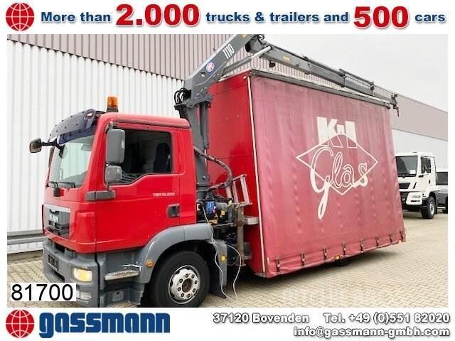 MAN TGM 12.250 4x2 LL mit Kran HMF 1110-K3,