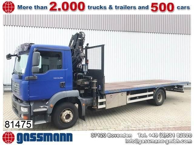 MAN TGM 15.280 4x2 LL mit Kran Atlas Terex 92.2, Funk
