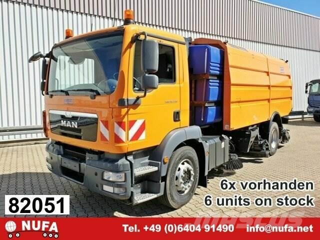 MAN TGM 18.330 4x2 BB Schmidt AS 990 Airport Sweeper
