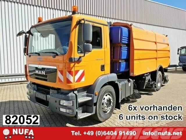MAN TGM 18.330 4x2 BB Schmidt AS990 Airport Sweeper