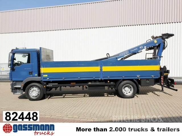 MAN TGM 18.340 4x2 LL mit Heckkran Fassi F145 AS.22