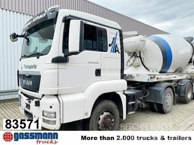 MAN TGS 18.400 4x4H BLS, HydroDrive, Motorabtrieb