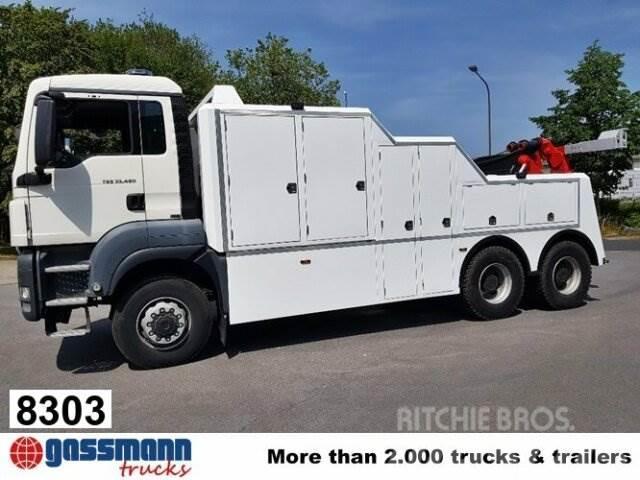 MAN TGS 33.480 6x6 BB Abschleppwagen mit Funk