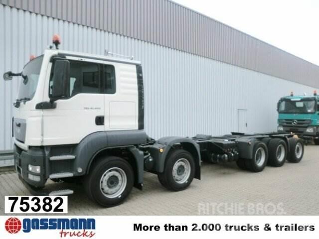 MAN TGS 50.480BB 10x4 Retarder, 3-f.NA