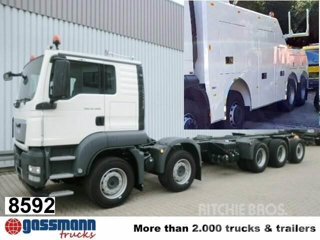 MAN TGS 50.480BB 10x4 z.B. als Bergungs-Fahrzeug